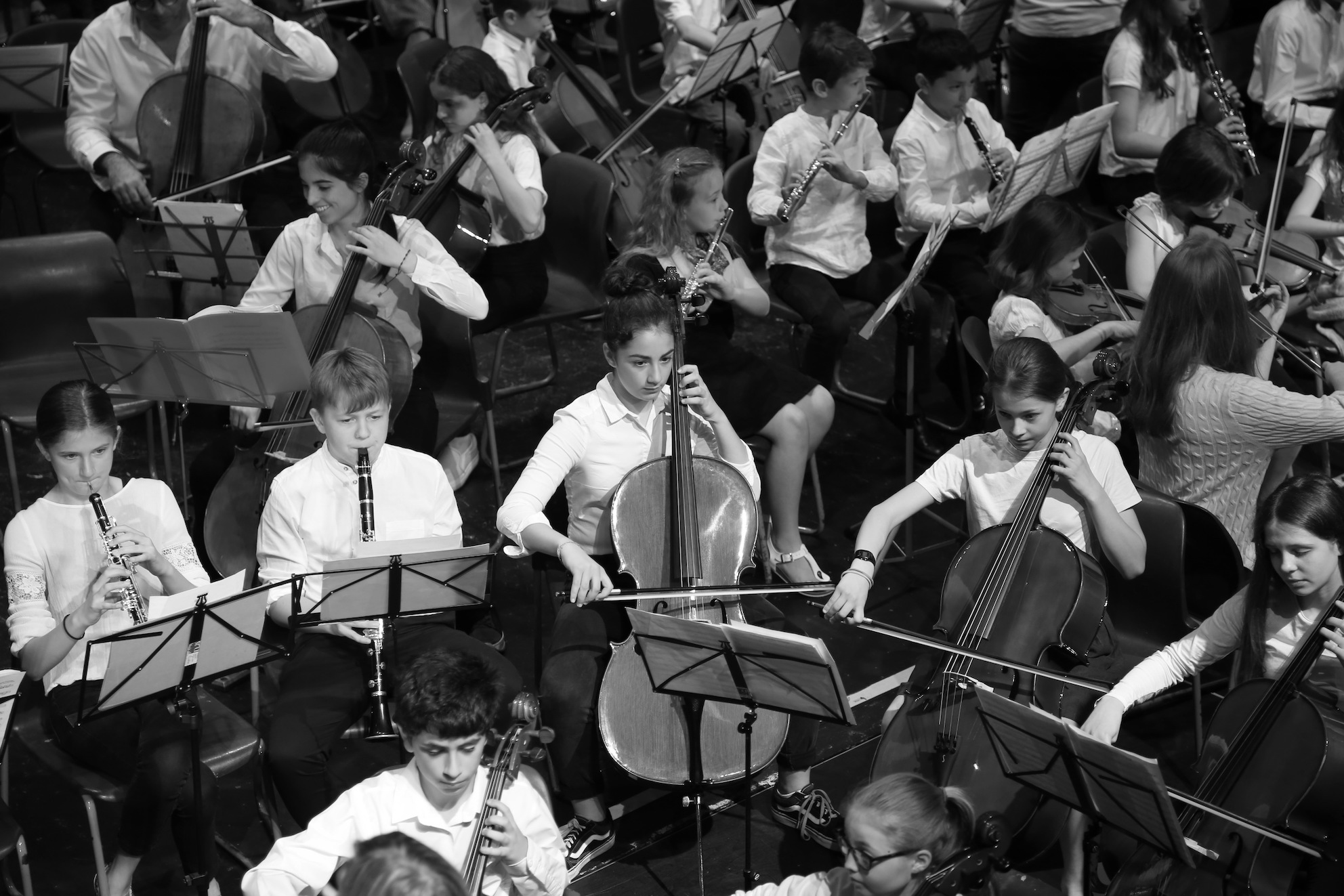 ORCHESTRAS, ENSEMBLES & CHOIRS -
