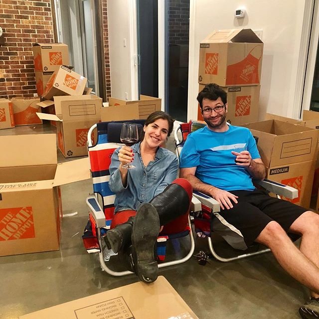 It's box time! Sponsored by The Home Depot #movingday #byemidtown #yupwedidthis #2019ready