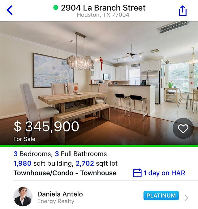 Looking for midtown living? Look no further! https://www.har.com/2904-la-branch-street/sale_77517438?cid=dandee