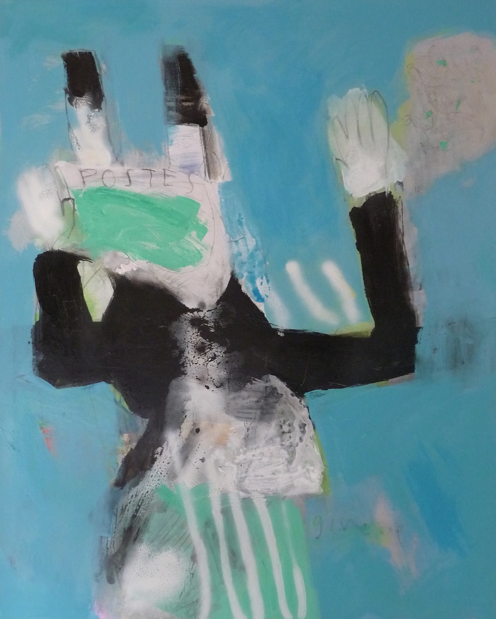 Give up  120 x 90cm