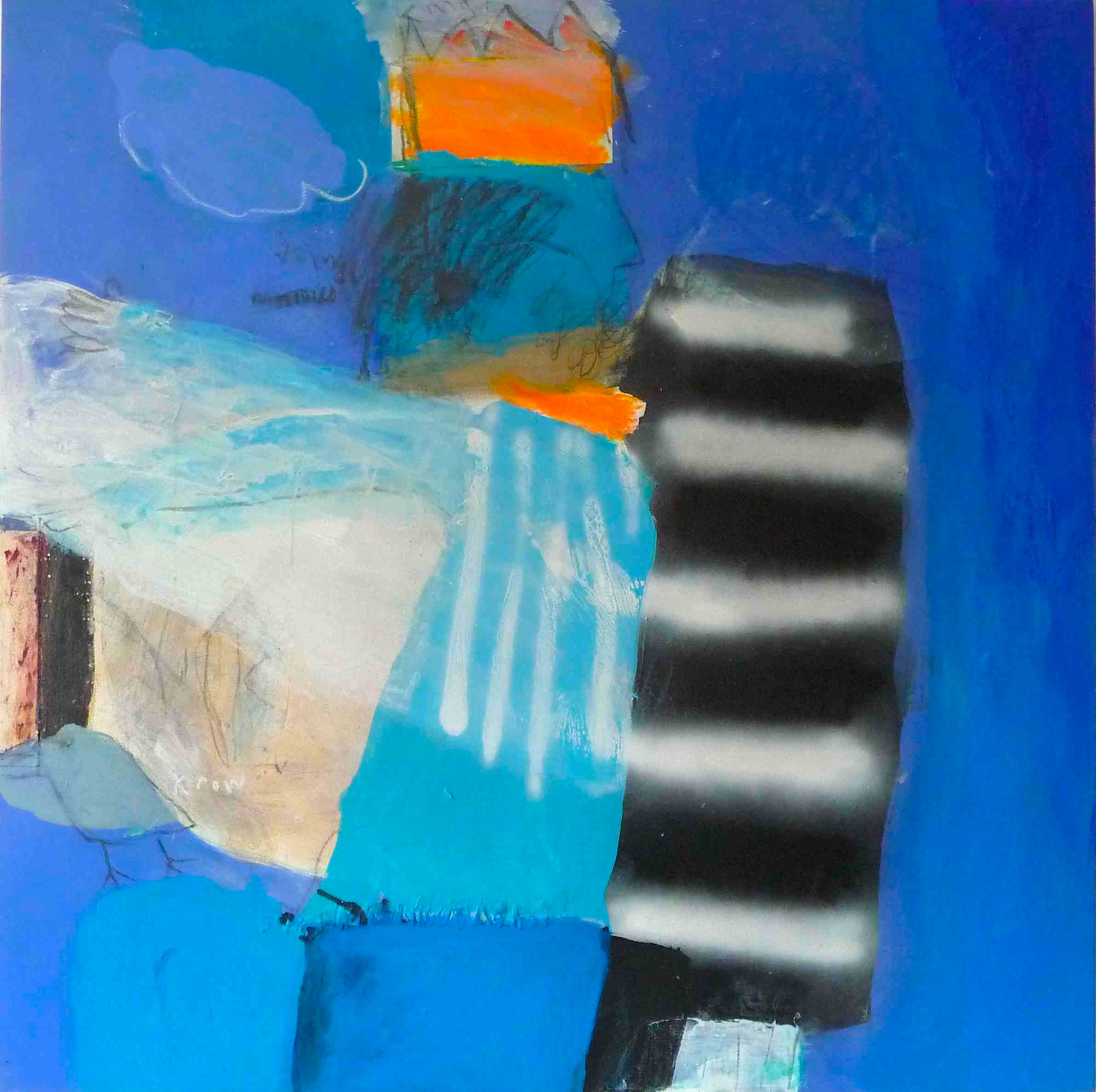 Unfinished 120 x 120cm
