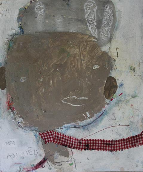 Der Abschied 48 x 41cm
