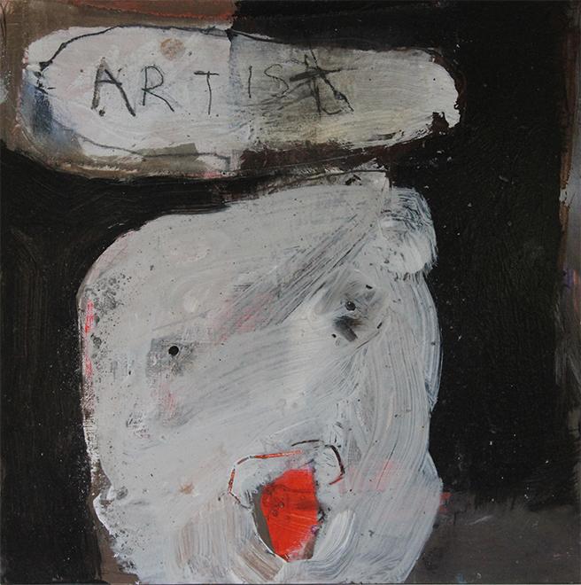 Artist 36 x 36cm