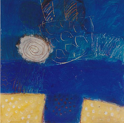Blue sea III 60 x 60cm