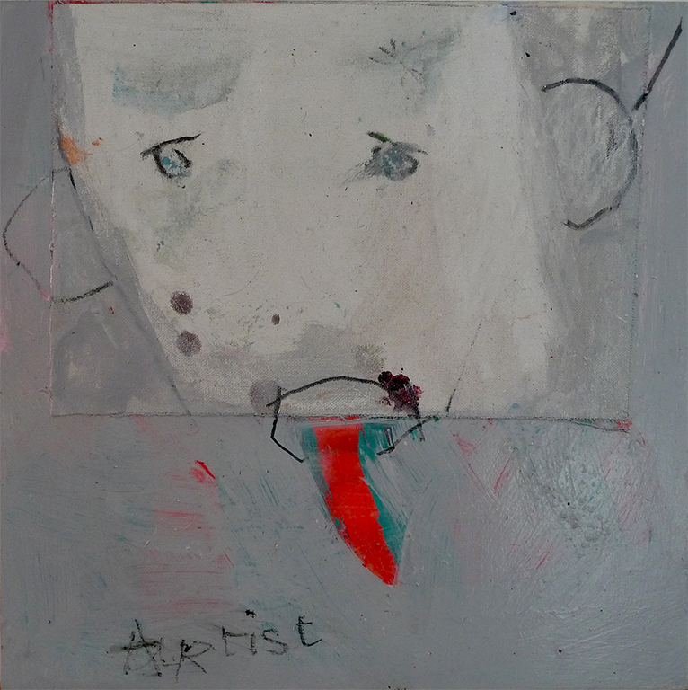 Artist 32 x 32cm