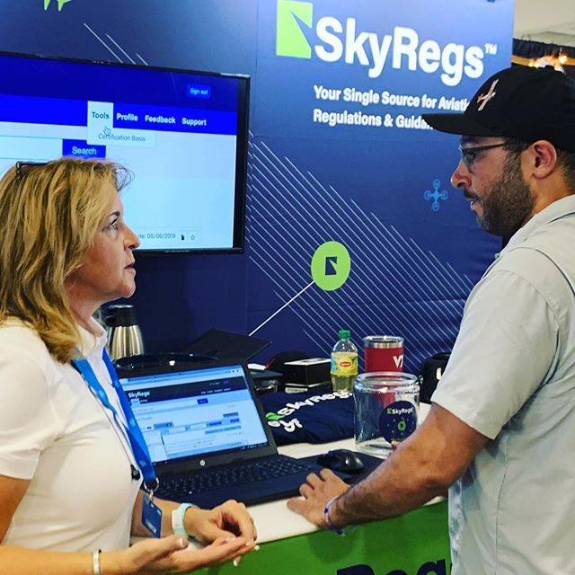 Working hard at the end of Day 2! Don't miss out on our #Osh19 special for AOPA and EAA members! www.skyregs.com