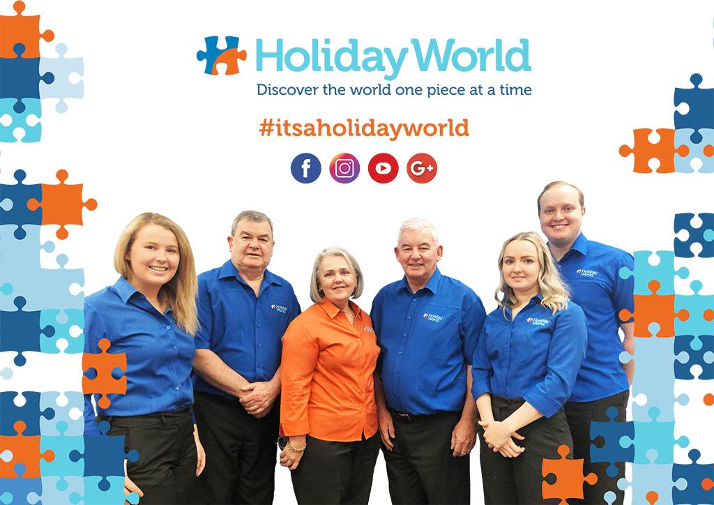 At Holiday World it's important to us that we have just as much fun and adventure as our customers. - We're always having a great time as we design and book holidays of a lifetime. Our travel experts pride themselves on their knowledge of destinations around the world and their ability to deliver the perfect holiday experience. Holiday World consultants are well travelled, have experience in a sales environment and highly developed customer service skills.