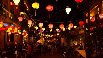 Old Town Hoi An   Explore the stunning World Heritage-listed Old Town of Hoi An decorated with bright lanterns and twinkling fairy lights.