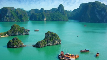 Ha Long Bay Cruise   Absorb the stunning scenery of Ha Long Bay on a three day cruise.
