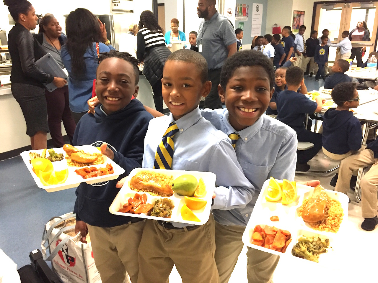 Healthy school meal support in the U.S.