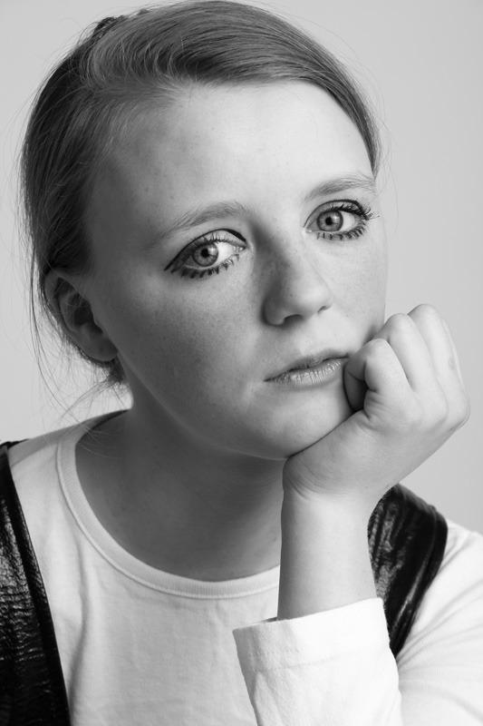 Sophie as 'Twiggy'. 2015