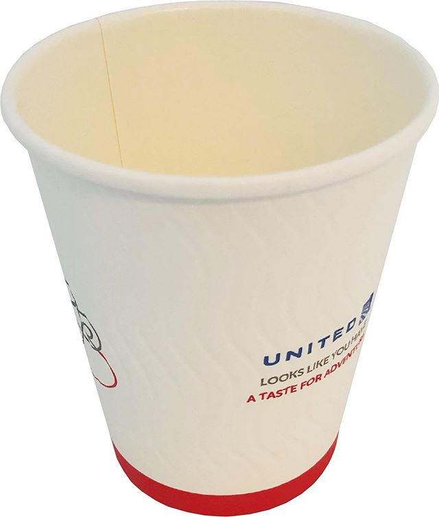 United Airlines has started using Linstol Super Cups made with EarthCoating.