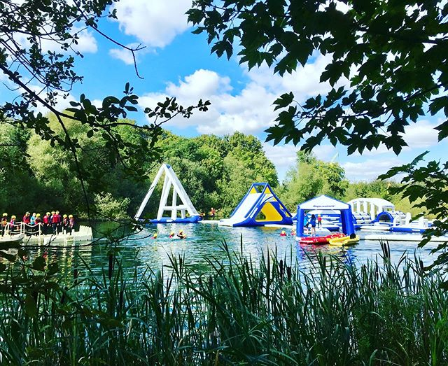 Gorgeous day down at the #lake - Good availability later in the day😀 #aquapark #inflatablewaterpark #lincoln #lincolnshire #wearelincoln #thingstodoinlincoln #thingstodoinlincolnshire ➡️www.lincolnwaterpark.co.uk