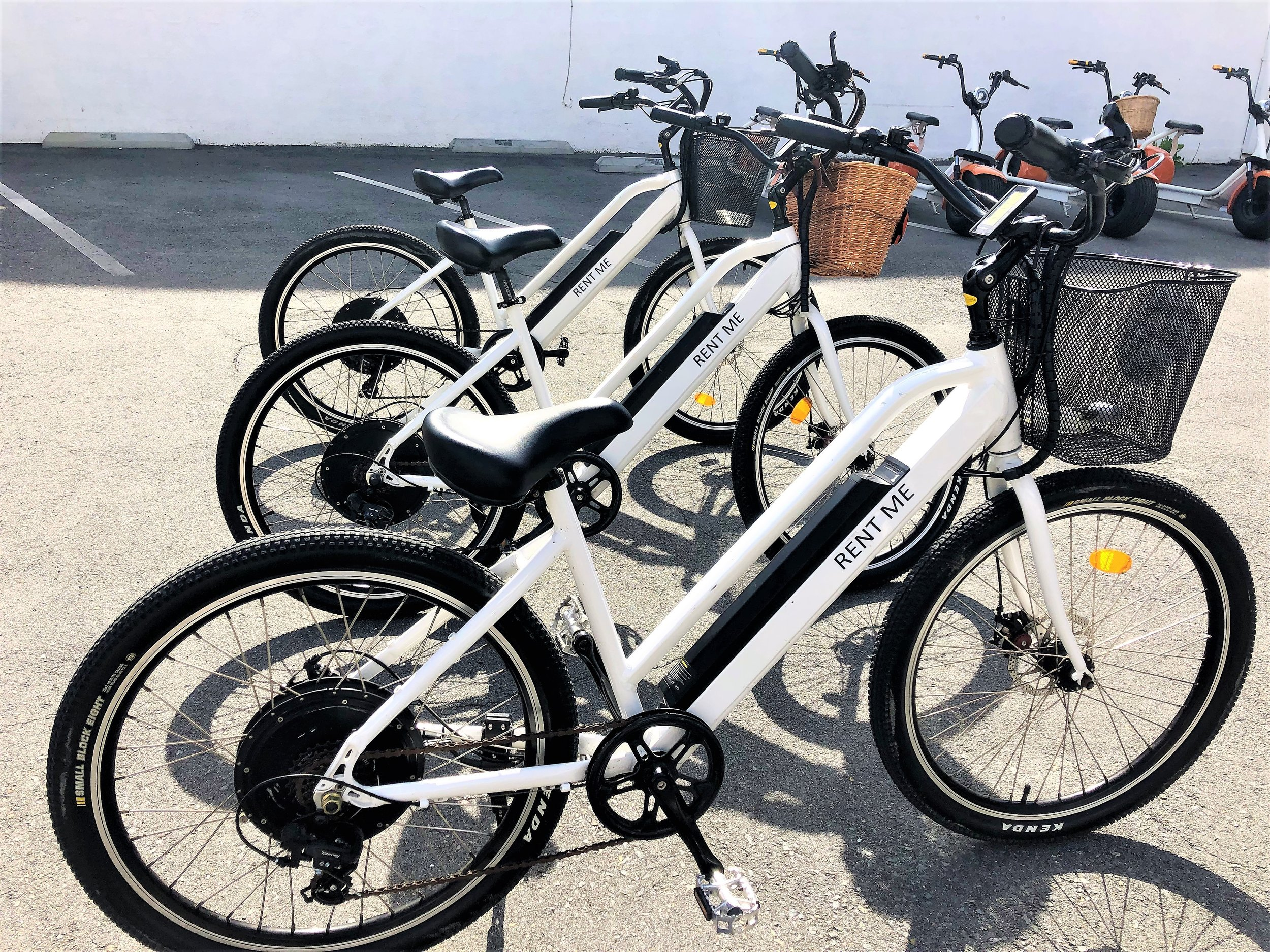 Electric Bikes - HRLY $301/2 DAY $80FULL DAY $110CONTACT US!