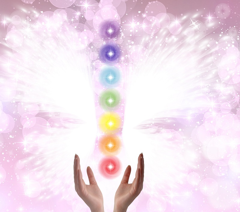 Aura Picture - with Chakra Balancing. Take home your printed aura picture and interpretation.