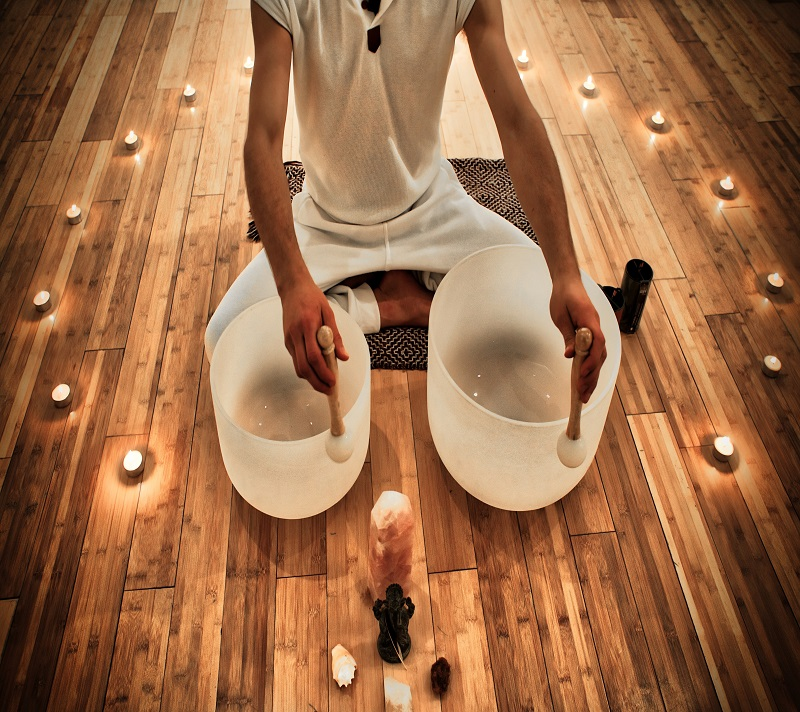 Sound Bath - Energy alignment with the healing tones of Crystal bowls, chimes & sacred anointing.