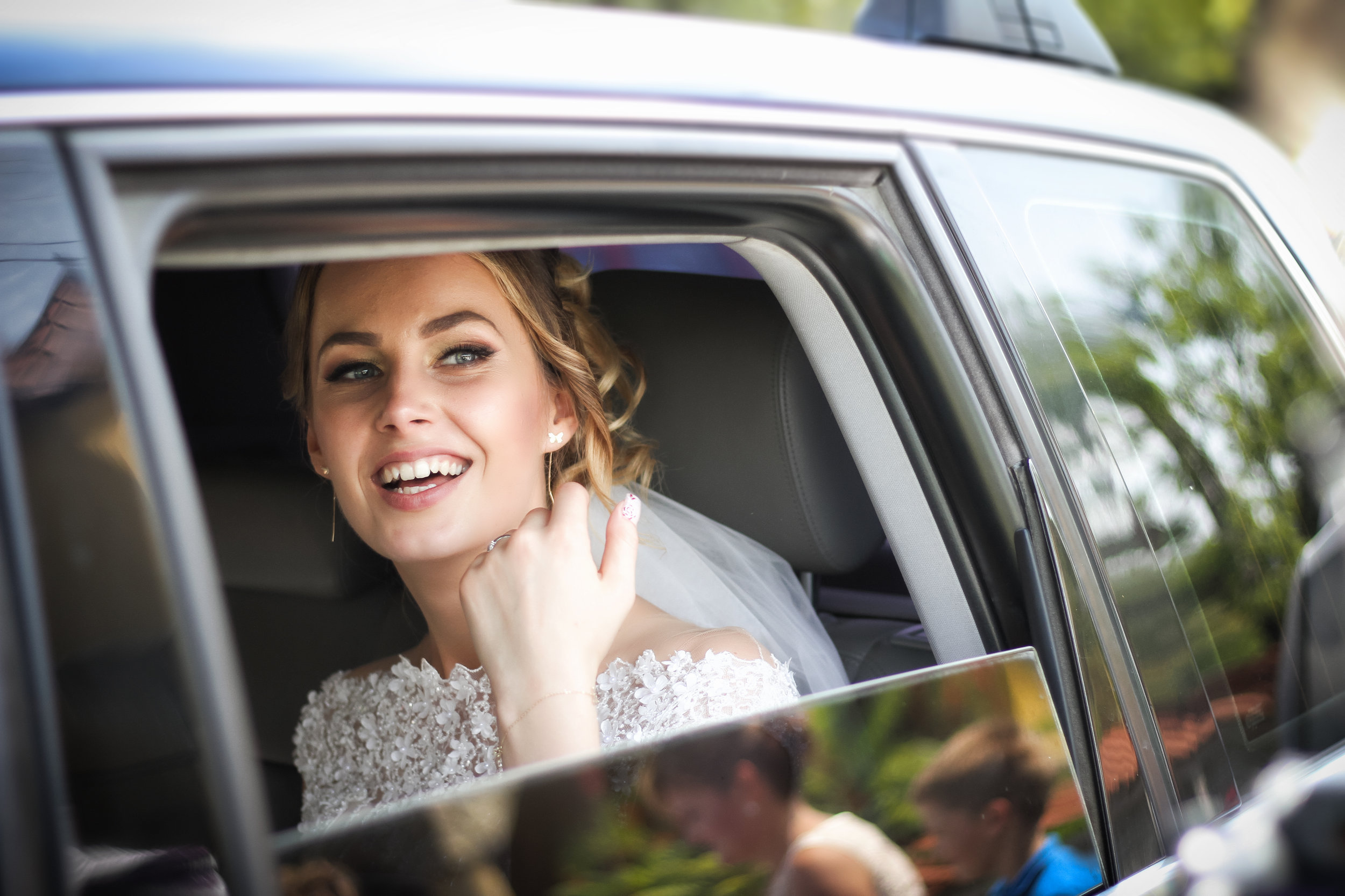 How Will You Arrive On Your Wedding Day? - Rest easy knowing that your Transportation is taken care of. Enjoy Luxury Limousine Service to each of your wedding locations.