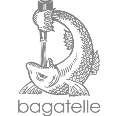 Bagatelle logo, learn more about this venue