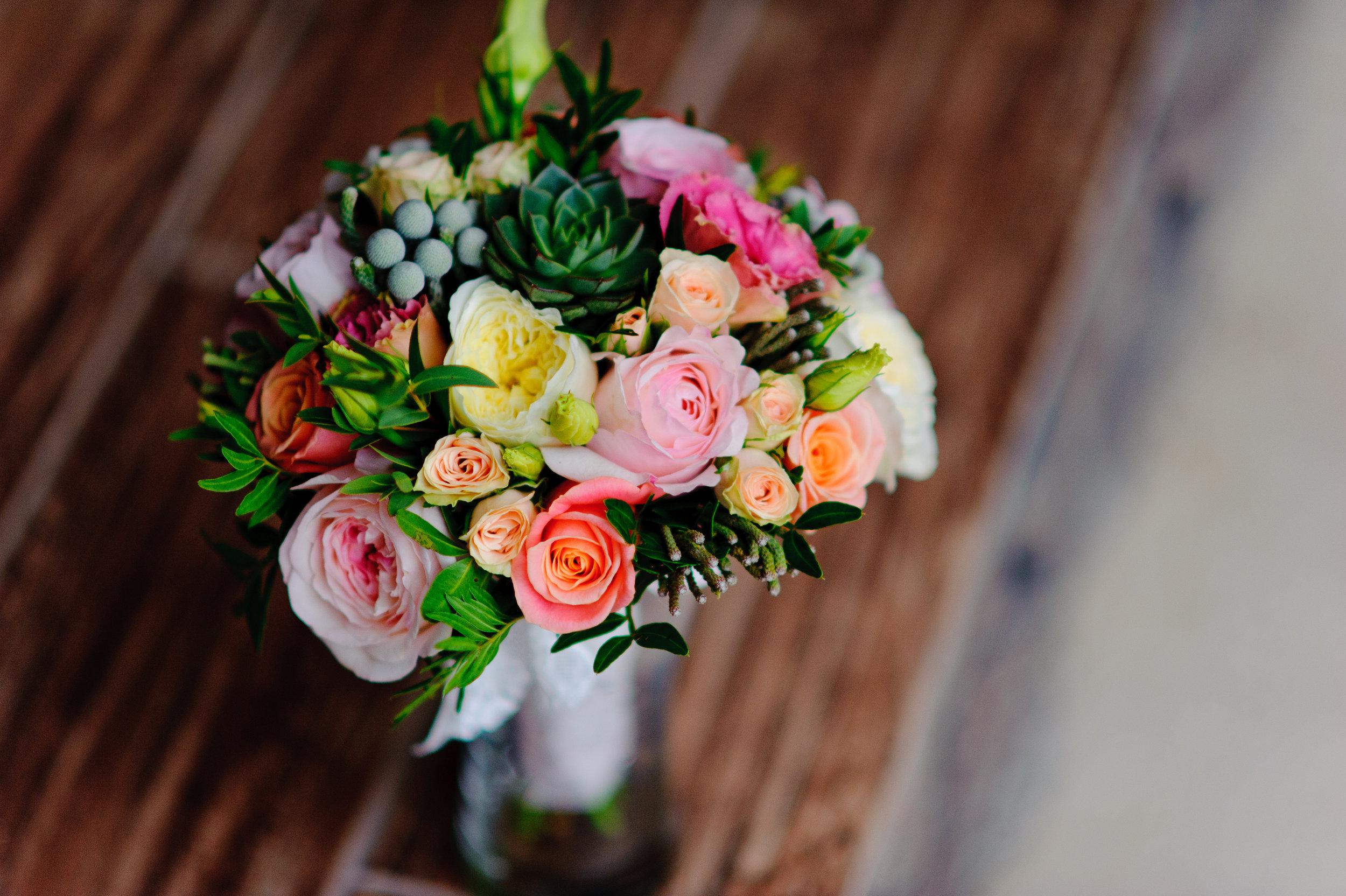 Port Dover Flowers wedding bridesmaid
