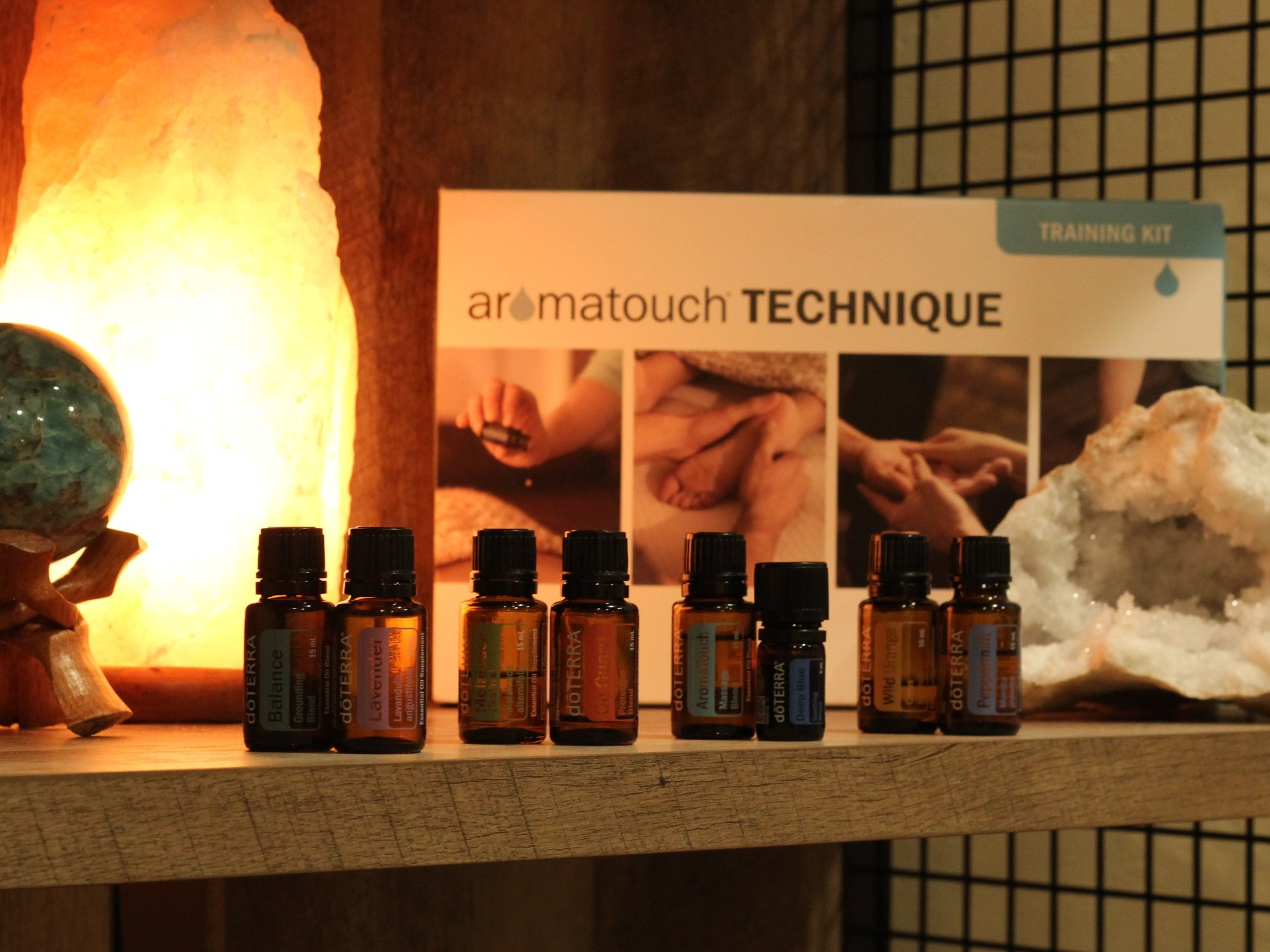AromaTouch Technique™ or Symphony of the Cells™ - Essential Oil Applications | $15