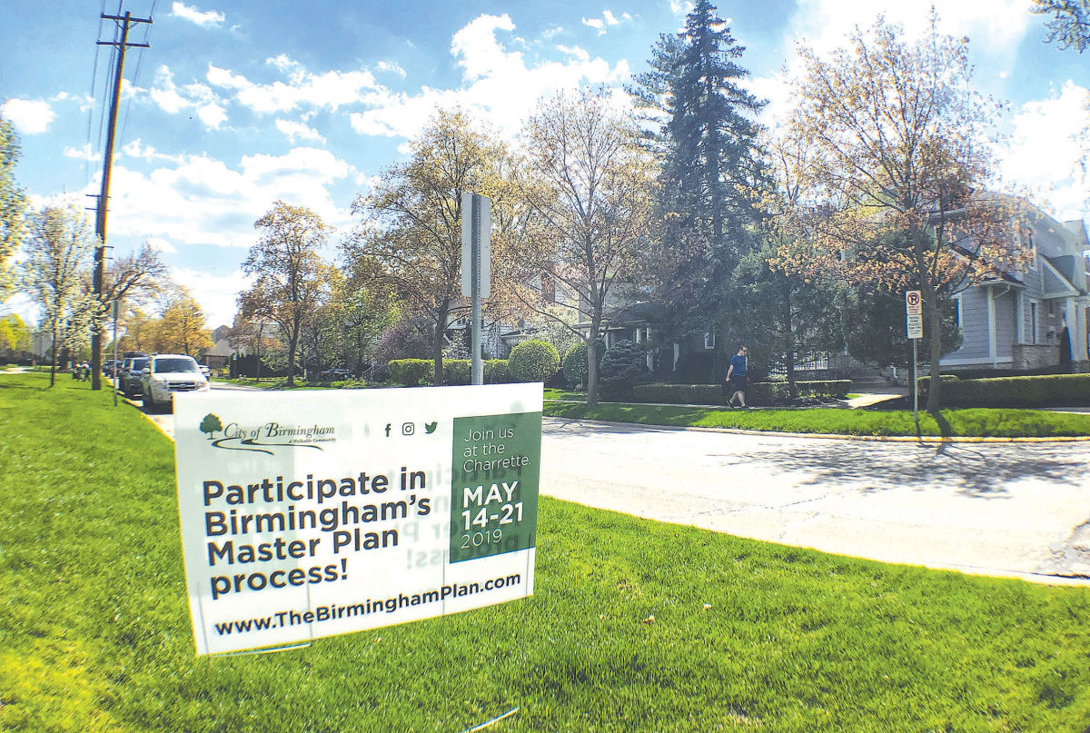 A weeklong master plan input charrette process will take place at a storefront downtown May 14-21.  Photo by Tiffany Esshaki