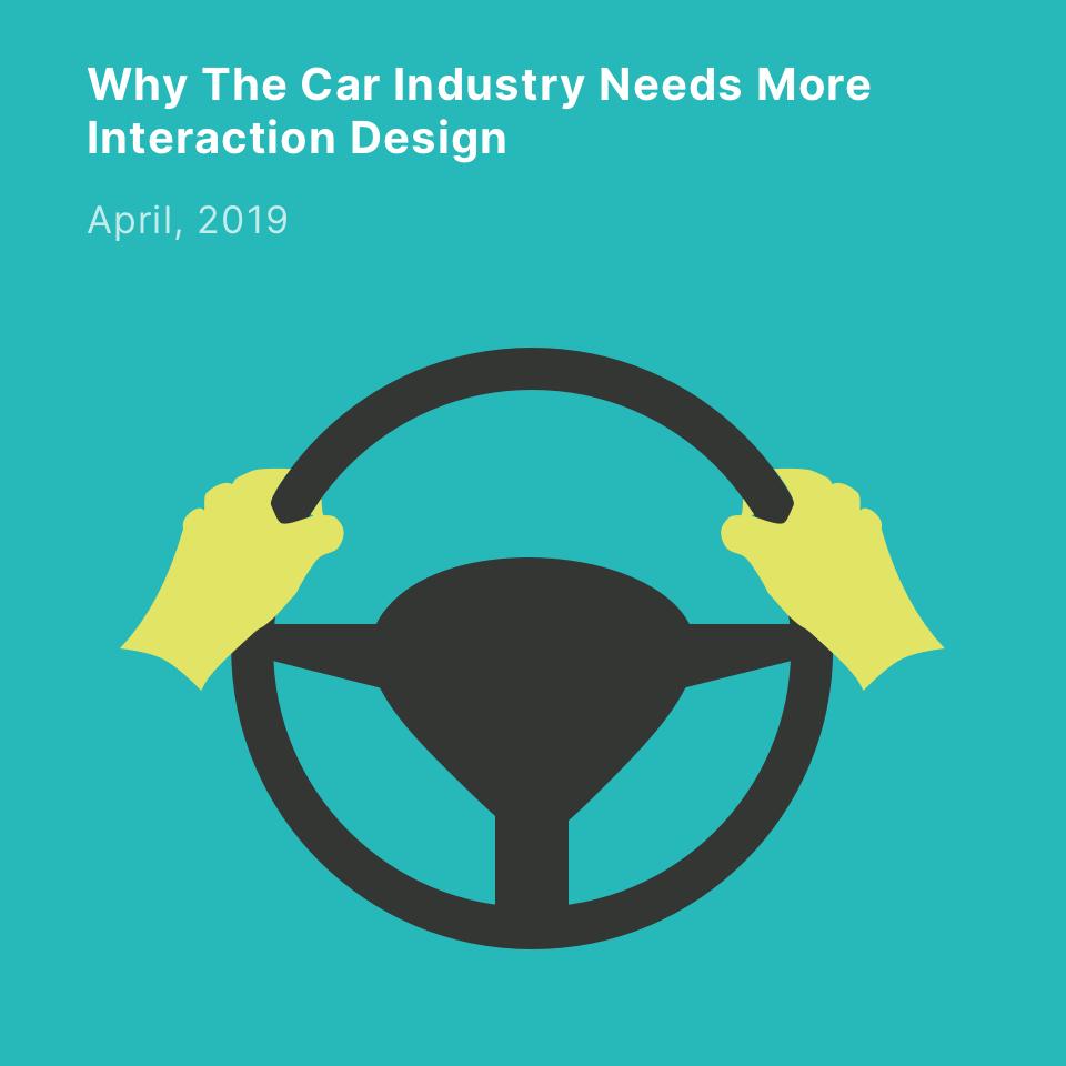 Why The Car Industry blablabla
