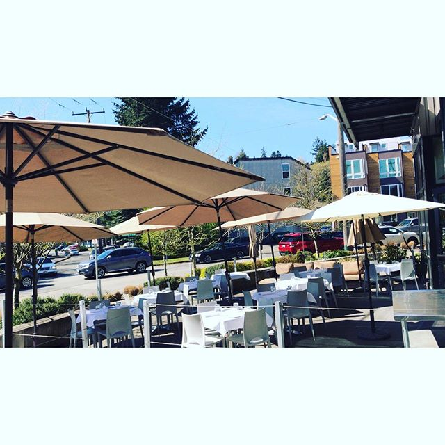 A beautiful day like this makes for a perfect time to join us on our patio! Come enjoy a refreshing cocktail 🍹🍸with us before the sun is gone! Happy Hour is available on our two couches as well!🍺 #patio #authenticitalian #happyhour #seattlerestaurants #seattlesun