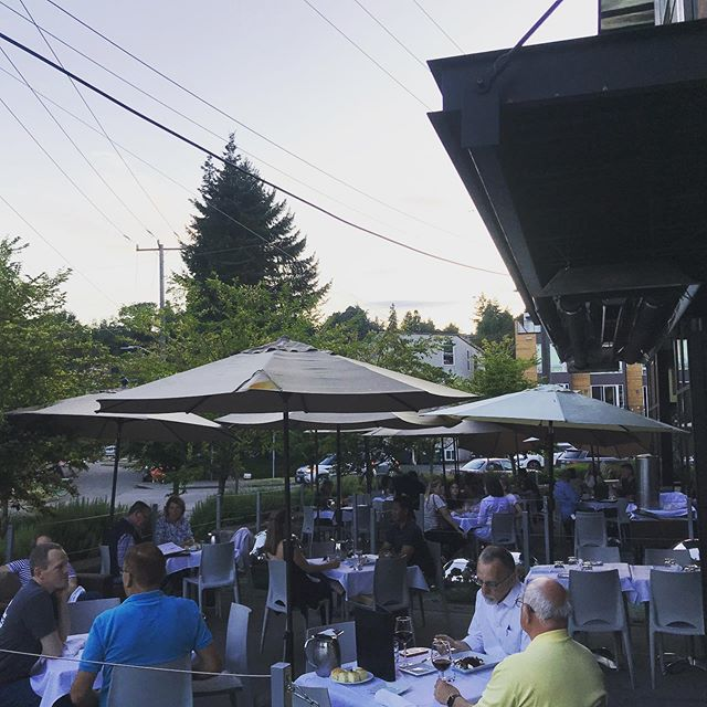 Did you know that we serve our late night Happy Hour on our lovely patio? These summer nights are the perfect time for it! Come on down and join us for a fantastic end to your night with all of your HH favorites! Late night HH starts at 9 and goes until close! #happyhour #seattlerestaurants #authenticitalian #goodeats