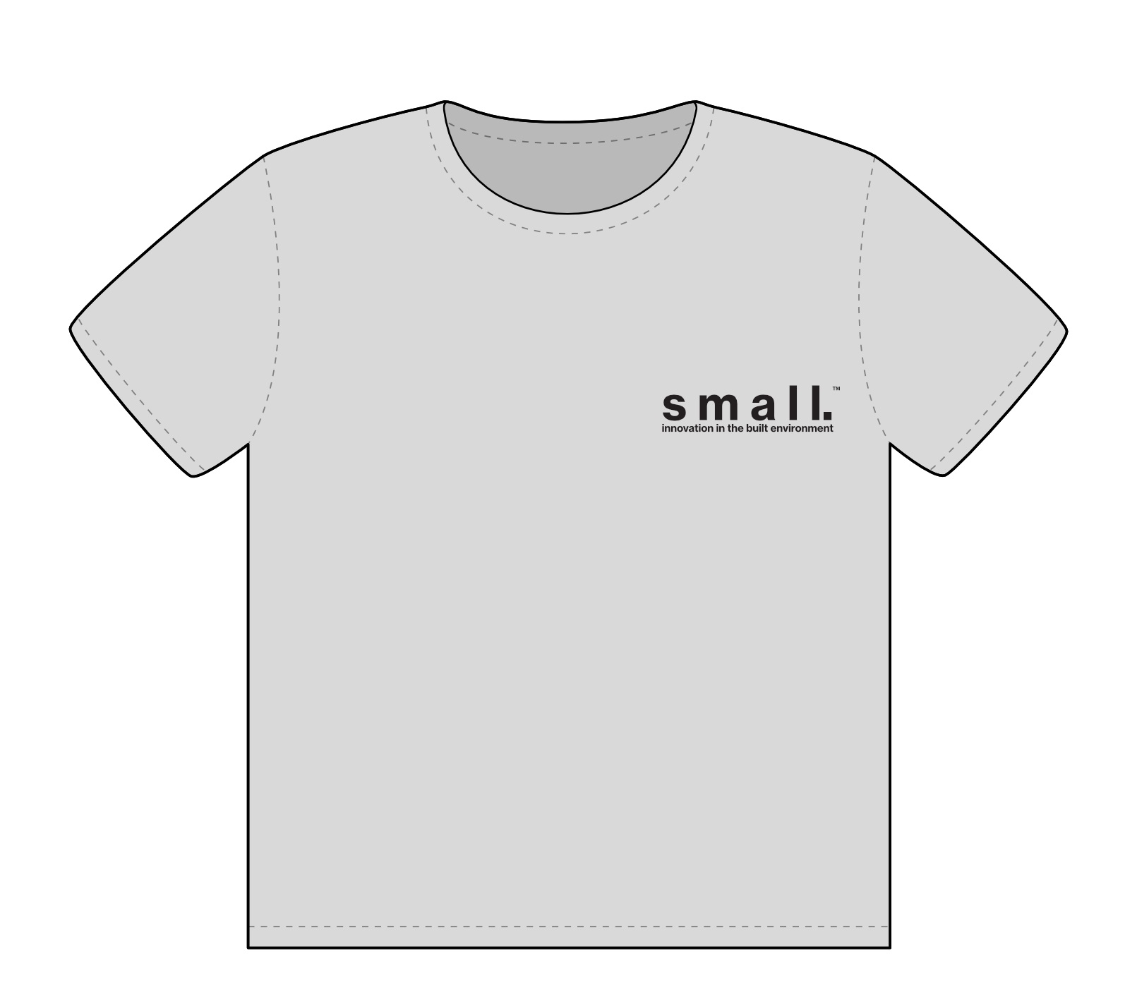 small. classic t-shirt | FRONT
