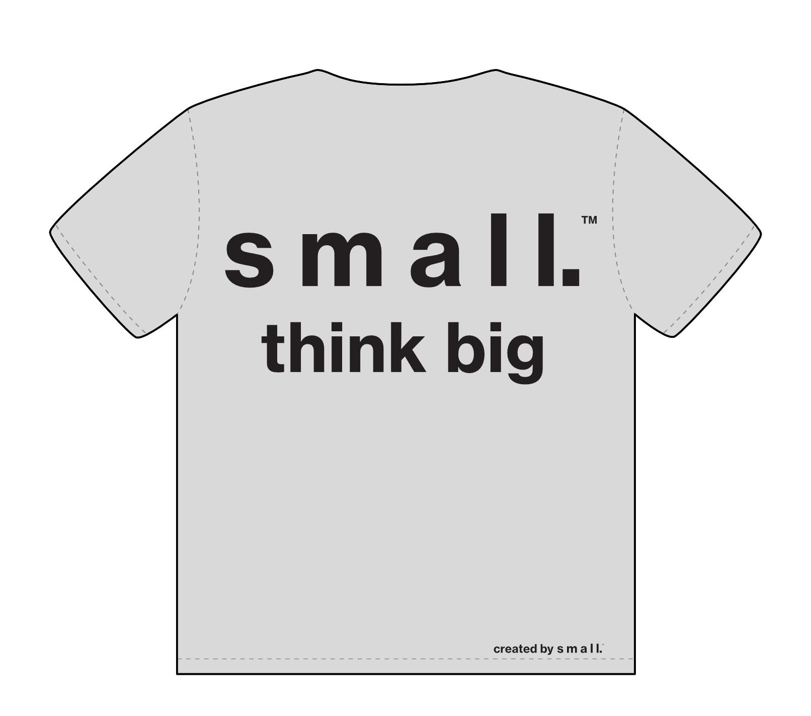 small. talk t-shirt | BACK