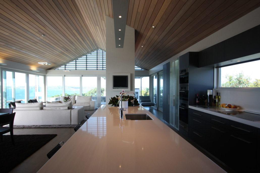 Devonport - 3 Level, 540 sqm houseBrick veneer on masonry constructionWater feature, LandscapingDuration: 16 monthsArchitects: VRLA Architects – Leo Van Venendaal