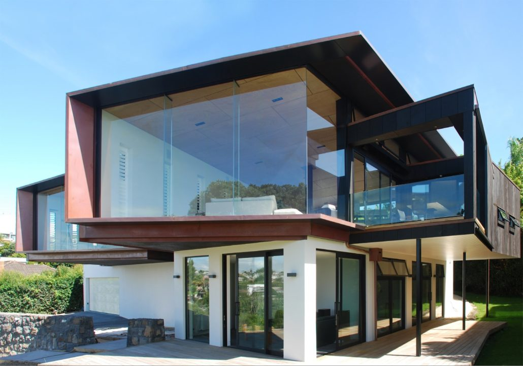 Orakei - New Build | Concrete with Copper Cladding