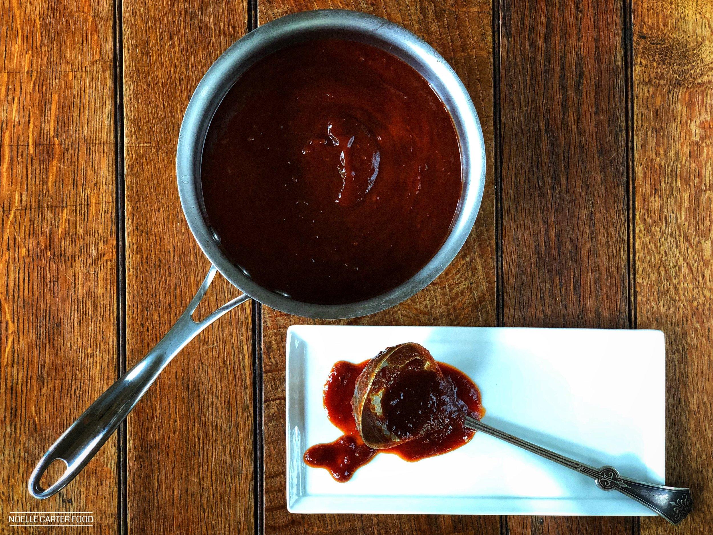 Kentucky bourbon barbecue sauce. (Noelle Carter)
