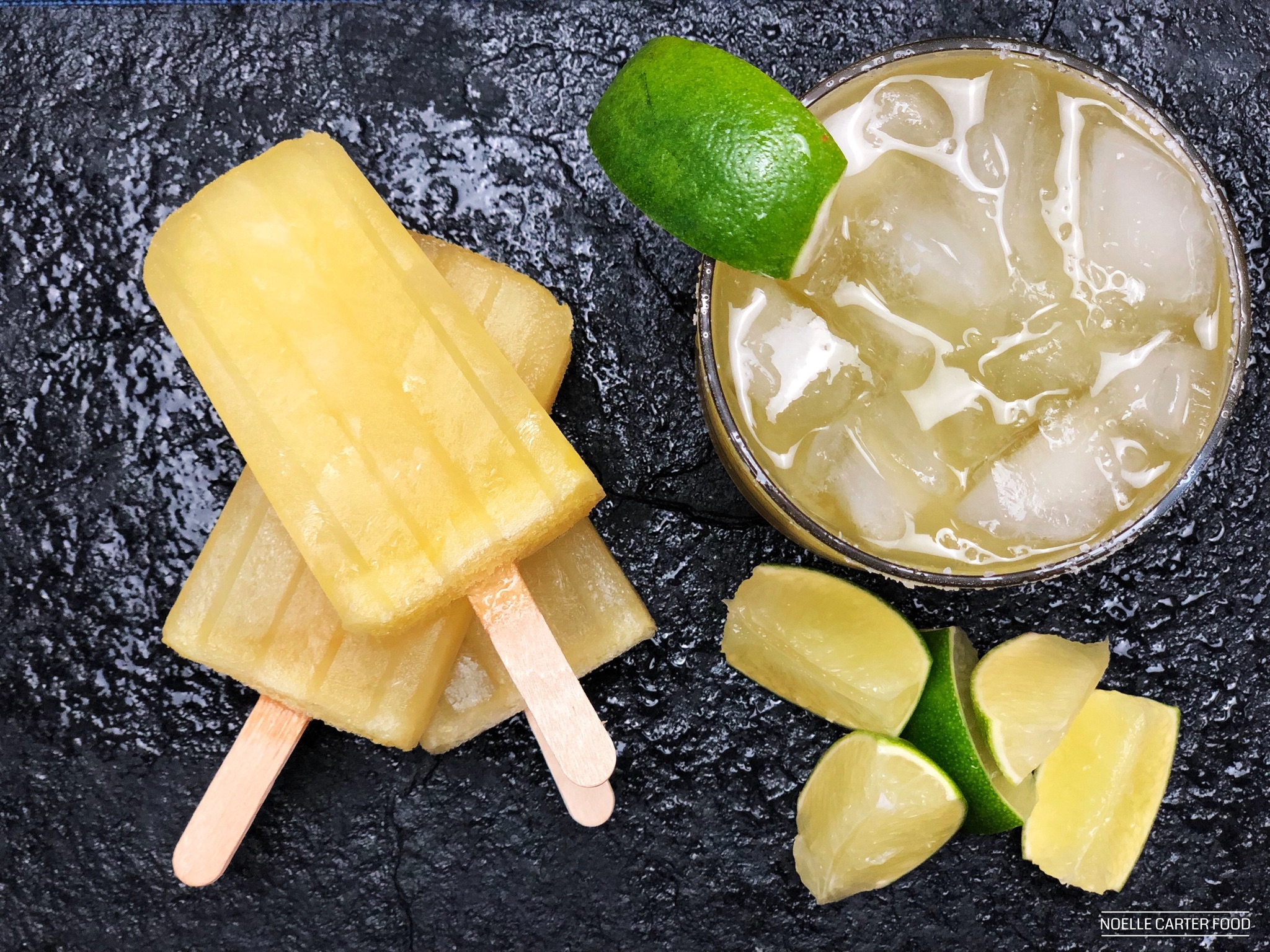 Margarita popsicles. (Noelle Carter)