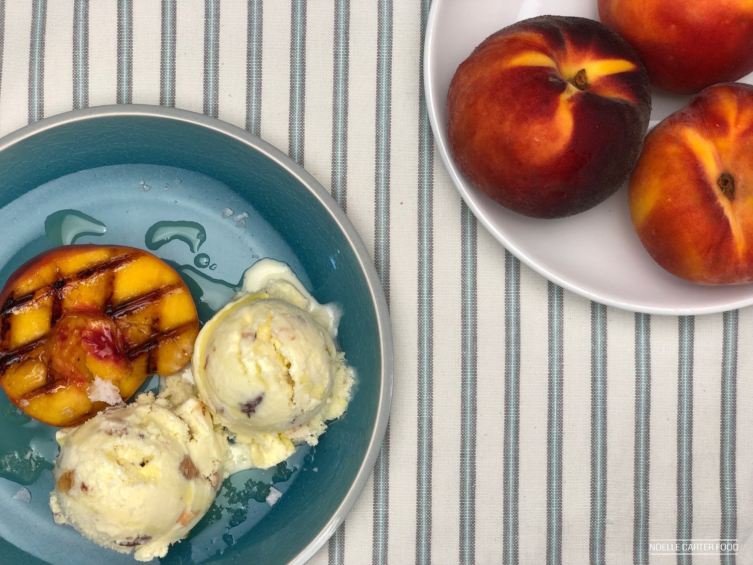 OLIVE OIL AND ROASTED ALMOND ICE CREAM