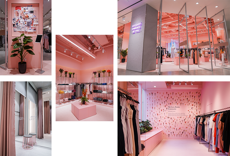 Love, Bonito 's first flagship store located in #02-16/21 at 313@Somerset (Picture Credits: Love, Bonito )