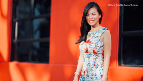 Grace Sai, Founder, Impact Hub singapore  (Photo taken from hnworth.com)
