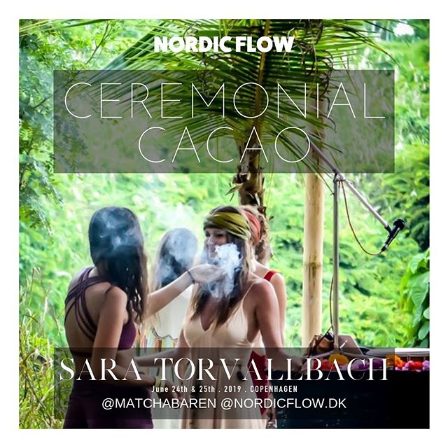 Have you ever tried a cacao ceremony so potent, that the natural state of love in your heart returned? 💖  Day 2 we start with a magical cacao ceremony • lead by @saratorvallbach 🌿🌙 #nordicflow #gathering #cacaoceremony #unionofthenorth #consciousfestial #inthecity #copenhagen #scandinavia