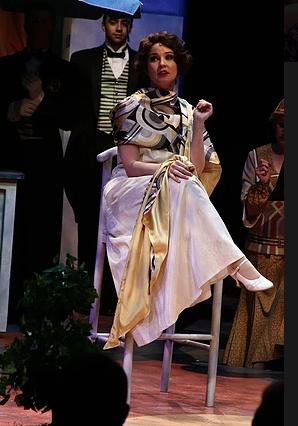 Janet Van De Graaf in  The Drowsy Chaperone  at The Mac Haydn Theater
