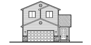 The Lindon - 3,244 square foot two story, 3 to 6 bedroom home with basementSee floor plan
