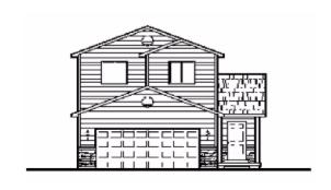 The Fir (1394) - Two story, 4 bedroom, 3 bathroom with basementSee floor plan