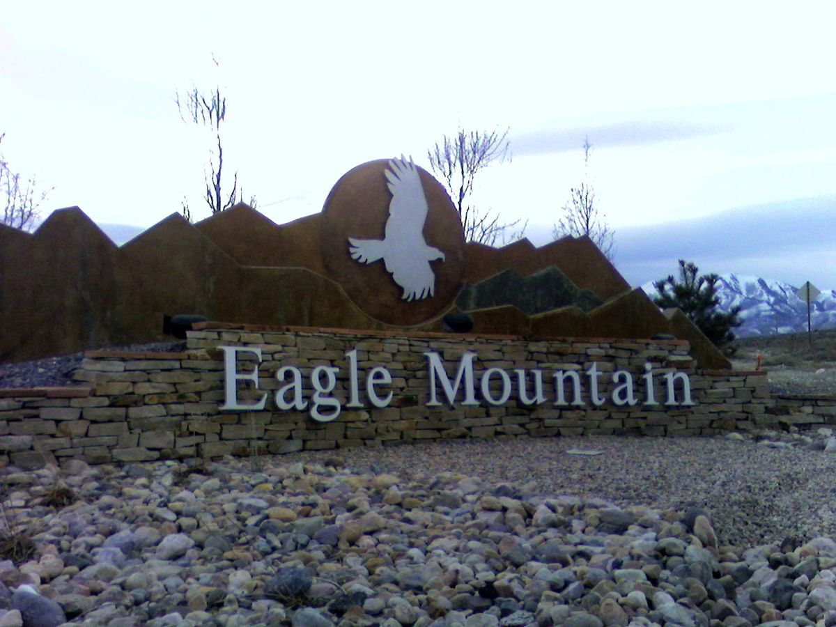 Eagle Mountain, Utah, located in Utah County, is the third fastest-growing city in the state.