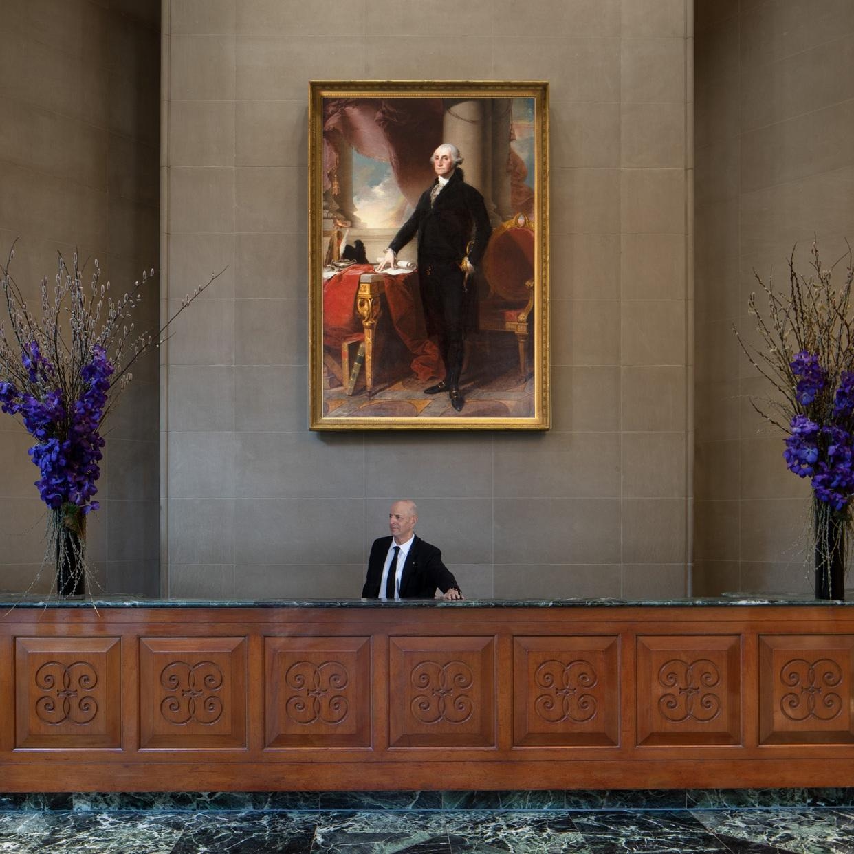Portrait of Washington