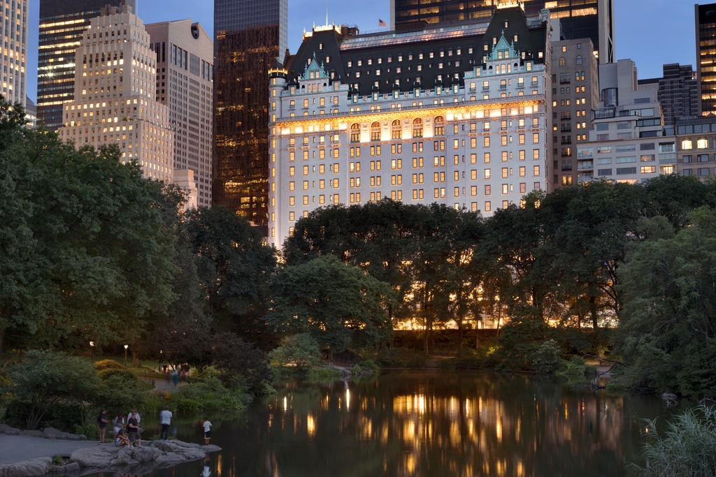 The Plaza Hotel and Central Park