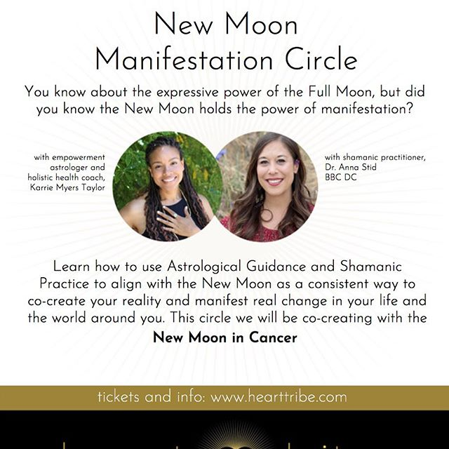 This New Moon in Cancer is going to be Extra Powerful with the Full Solar Eclipse! This is a potent time to plant the seeds of what you wish to Birth throughout this eclipse season! Shamanic Journeying will also be very Potent!! Come join us and gather in sacred community to help solidify your dreams coming true the rest of this year!! #newmoonritual #community #manifestation #hearttribefairfax #fairfaxca #gathering #shamanicjour#newmoon #cancernewmoon #solareclipse