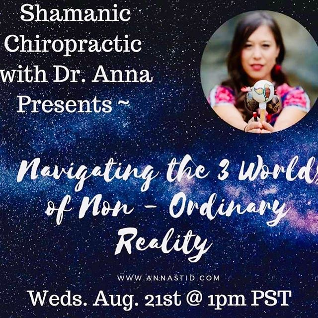 Join me today at 1pm FB Live #ShamanicChirpractic #shamanicjourney #threeworlds #nonordinaryreality #shaman #shamanism