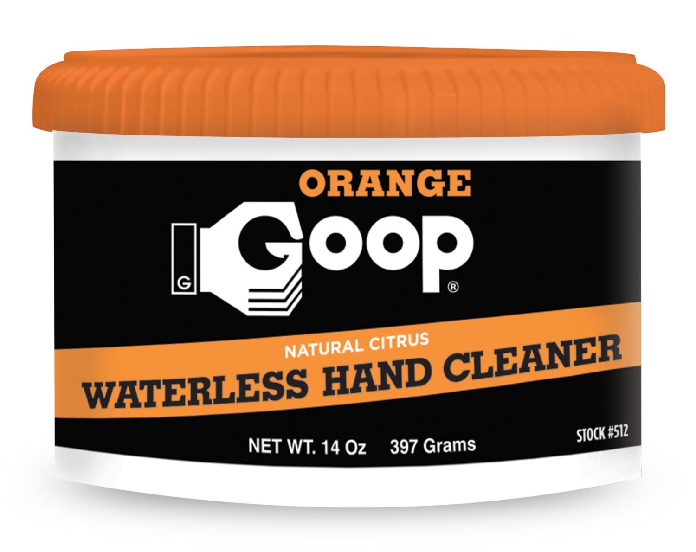 Orange Goop Smooth Gel Hand Cleaner