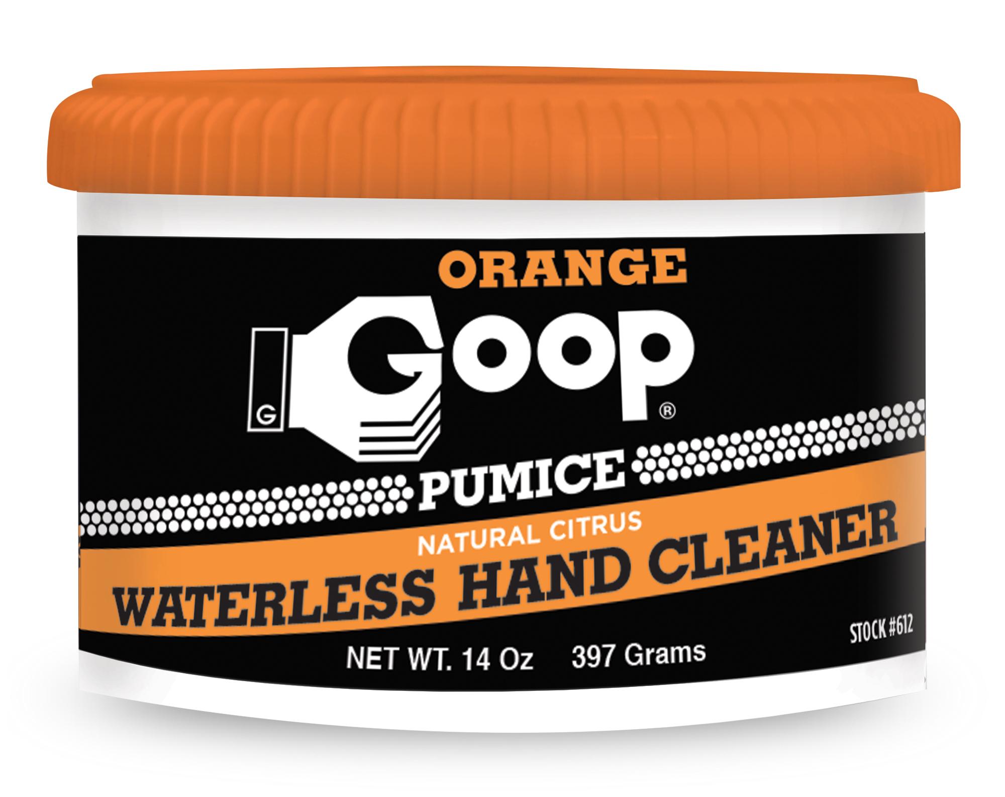 Orange Goop Gel Hand Cleaner with Pumice