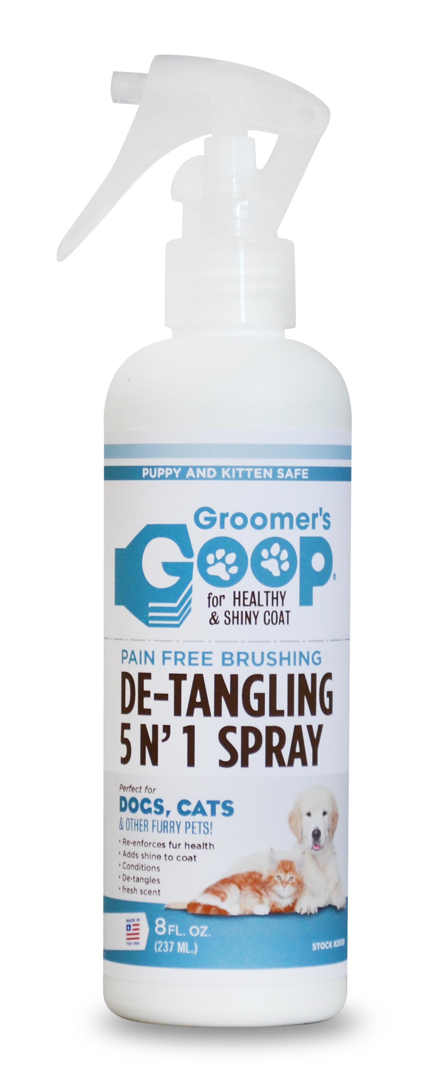 - Groomer's Goop Detangling Spray - 8 oz. Bottle