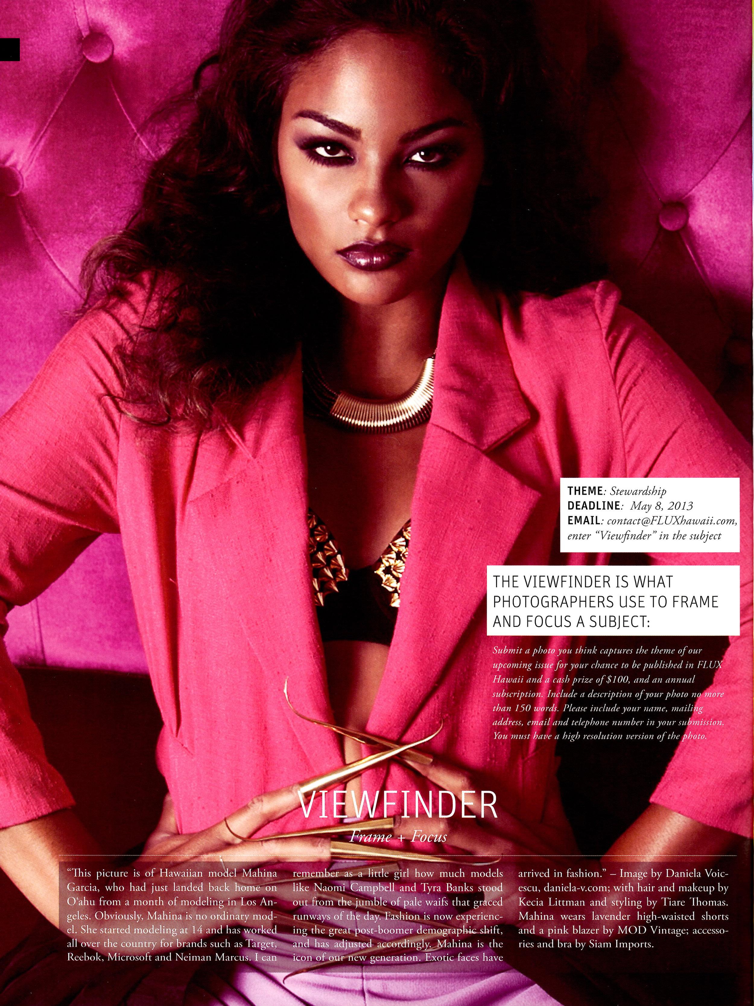 Mahina Flux Magazine Kecia Daniela Tiare Pink funky print.JPG